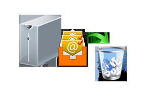 delete exchange mailbox
