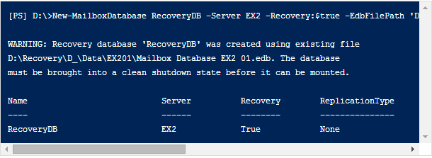 How to Restore Mailbox in Exchange 2010 Using Recovery Database