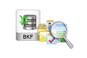 convert exchange bkf to pst